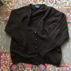 Pendleton Wool oversized Cardigan
